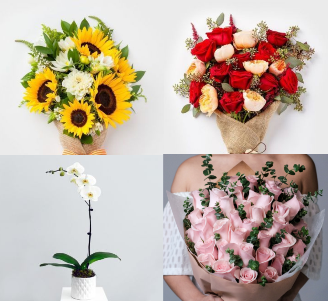 Happy Florist bouquets