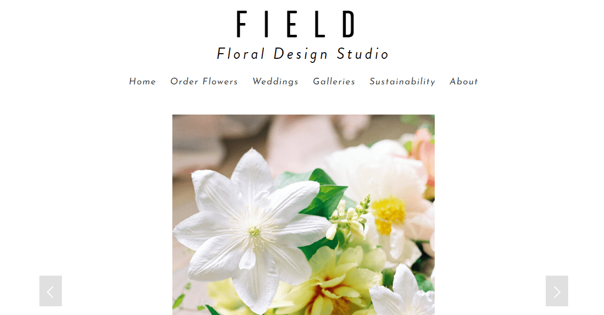 Field Floral Studio's Homepage