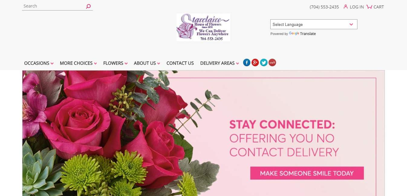Starclaire House of Flowers' Homepage